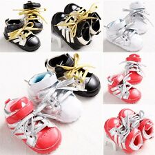 HOT 3 Colors Unisex Baby Shoes Lovely Sneaker Boy Girl Infant Toddler 0-18months