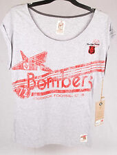 First 18 Official AFL Essendon Bombers Ladies Heritage Tee