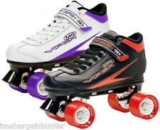 Roller Derby Viper M4 Mens Ladies Womens Quad Roller Speed Skates US Sizes 5-12