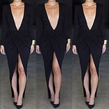 Two Piece Sexy Women Bandage Bodycon Crop Top Skirt Clubwear Evening Party Dress