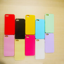 Silicone Cute Candy Colors Soft Gel TPU Thin Case Cover for iphone 5 5s