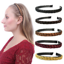 Women's Tails Braid Belt Plait Headband Hair Band Hair Extensions Hairpiece PP10