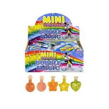 Childrens Mini Touchable Bubbles Tubs Kids Party Bag Fillers Toys