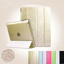 Smart Magnetic Leather Stand Case Cover For Apple iPad Air 4 3 2 Mini Wake Sleep