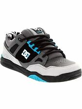 DC Grey-Grey-Black Ken Block Limited Edition Stag 2 Signature Series Kids Hi Top