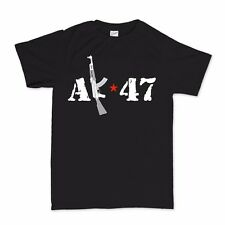 AK-74 AKM AK-47 Kalashnikov Russian Assault Rifle Pmag Airsoft T shirt