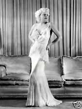 """Jean Harlow Canvas Print Limited Edition as Mona Leslie in """"Reckless"""" 1935"""