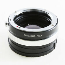 Camdiox Focal Reducer Speed Booster Nikon F mount G lens to Sony E NEX Adapter