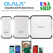 4400/6600/10400mAh Power Bank Charger OLALA External Battery For iPhone7 Samsung