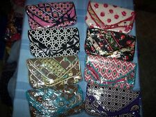 VERA BRADLEY FLAPPER WRISTLET BRAND NEW W/TAGS-ALL RETIRED COLOR/STYLE RARE