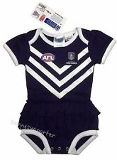 Fremantle Dockers AFL Baby Girls Tutu Footysuit 'Select Size' 000-1 BNWT