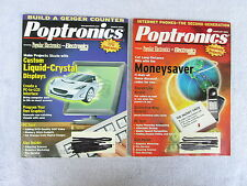 Poptronics - Back issues range from February, 2000 to September, 2002 **** Box F
