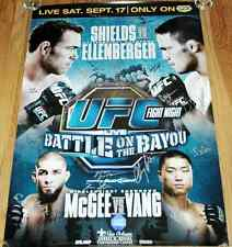 UFC Fight Night 25 SBC Signed By Card Autographed Poster Shields Ellenberger