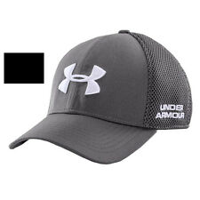 Under Armour 1257936 Mens Golf Mesh Stretch Fitted flex Cap Hat UA