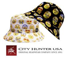 CITY HUNTER BD1250 FACE EMOJI BUCKET HATS