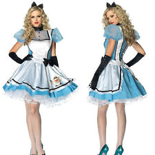 fantasias Alice In Wonderland costume girls party cosplay adult fancy dress