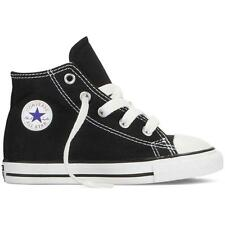 NEW INFANT TODDLER CONVERSE ALL STAR CHUCK TAYLOR HI TOPS (BLACK/WHITE) RRP:$60