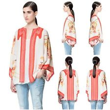 2015 Vintage Retro Womens Boho Hippie Loose Style Kimono Coat Cape Blazer Jacket
