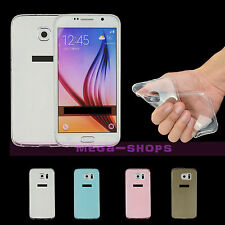 New Back Soft Gel Ultra Thin Lithe Clear Case Cover For iPhone Samsung