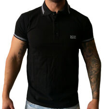 Hugo Boss Modern Fit Polo Shirt in Black . Size S M L XL 2XL