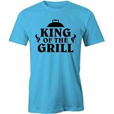 King Of The Grill T-Shirt Funny BBQ Barbeque Aussie Barbie Burner Tee New