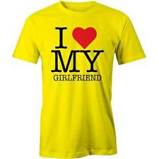 I Love My Girlfriend T-Shirt Romance Valentines Day Girl Friend Boyfriend Boy Re