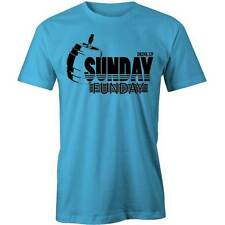 Sunday Funday T-Shirt Party Tee Drink Up!  Drinking Beer Tee New
