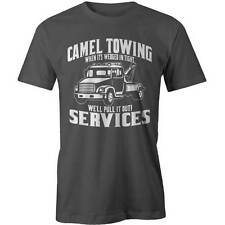 Camel Towing Service T-Shirt Camel Toe Offensive Sexy Adults Tee New