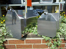 Stainless Mailbox, The Dutch Barn Decorative Mailbox WITH REAR ACCESS DOOR