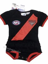 Essendon Bombers AFL Baby Girls Footysuit 'Select Size' 000-1 BNWT