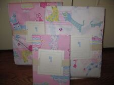 NWT Pottery Barn Kids Poodle Reversible twin duvet cover, sham & sheet set dog