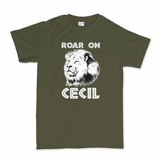 Roar On Cecil The African Lion T shirt