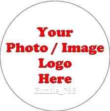 7.5'' PERSONALISED PHOTO/ LOGO/LABEL/PICTURE Edible Icing Cake & Cupcake Toppers