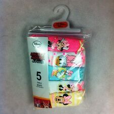5 Pair Mickey Mouse & Friends Girls Briefs Knickers BNIP Primark