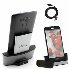 For LG G4 H815 F500L BL-51Y Battery w/ Desktop Dual Dock Cradle Battery Charger