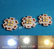 2PCS Cree XPE2 4Chip 6V/12V LED Emitter instead of MKR LED with 20MM Cooper PCB