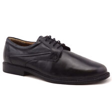 SAVILE ROW MENS SHOES LEATHER LACE UP FORMAL WORK OFFICE BLACK 6 7 8 9 10 11 12