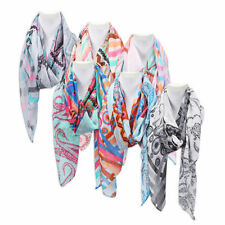 Women's Spring Summer Scarf Paisley Abstract Summer Scarf