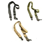 Tactical Hunting Rifle 1/2 Point Nylon Sling Strap MS2 Style QD Multi Mission