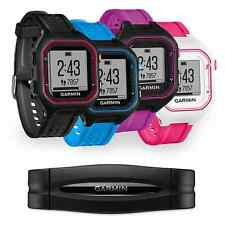 Garmin Forerunner 25 Running Watch + Heart Rate Monitor (Black/Blue/Purple/Pink)