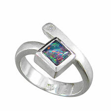 Schmuck-Michel Ring Silver 925 Opal-Triplet Top Style Size 50-65 to choose 1200