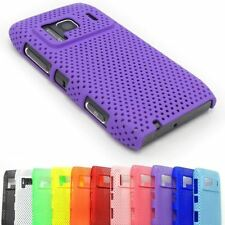 MESH PERFORATED HARD BACK CASE IMPACT RUBBER PLASTIC COVER FOR NOKIA N8 N8-00