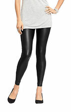 NWT Old Navy Women's Sexy Faux Leather Liquid Leggings Black XS or XXL USA Made!