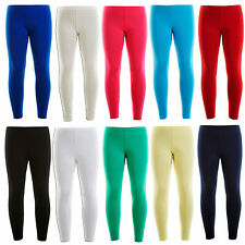 New Girls Winter Thick Viscose Warm Stretch Leggings 2-13 Years