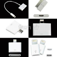 New USB Converter Adapter For Micro USB Apple iPhone 4 5 5S 6 Plus iPod