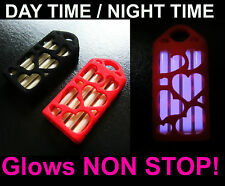 """Glows Non Stop For DECADES! """"Love Hearts"""" Tritium Key chain / Keyring Valentines"""