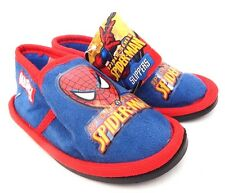 Marvel Spider-Man Spider Sense Boys Slippers Shoes Blue/Red Size 7,8 NWT