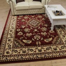 Large Small Persian Traditional Red Carpet Rugs Runners Circle Half Moon Mats