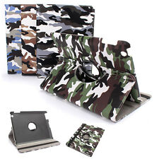 Smart Rotating Camuffamento Flip Custodia Cover Stand per iPad 2 3 4 Mini 2 3