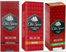 Old Spice After Shave Lotion 150ml For Men 3 Variant Fragrances Free Shipping